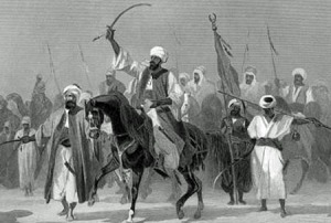 Muhammad-the-Prophet-spreads-Islam-by-sword-murder