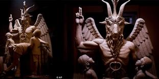 Satanic-Statue
