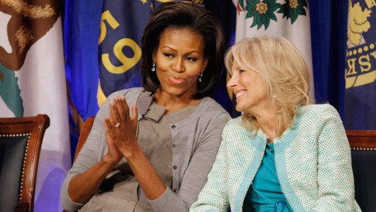 Michelle Obama And Jill Biden Discuss Military Spouse Employment At Pentagon