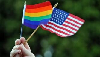 LGBTflagAmericanFlag
