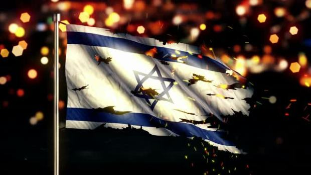 israel-flag-torn