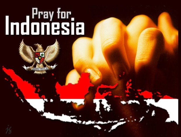 PrayForIndonesia